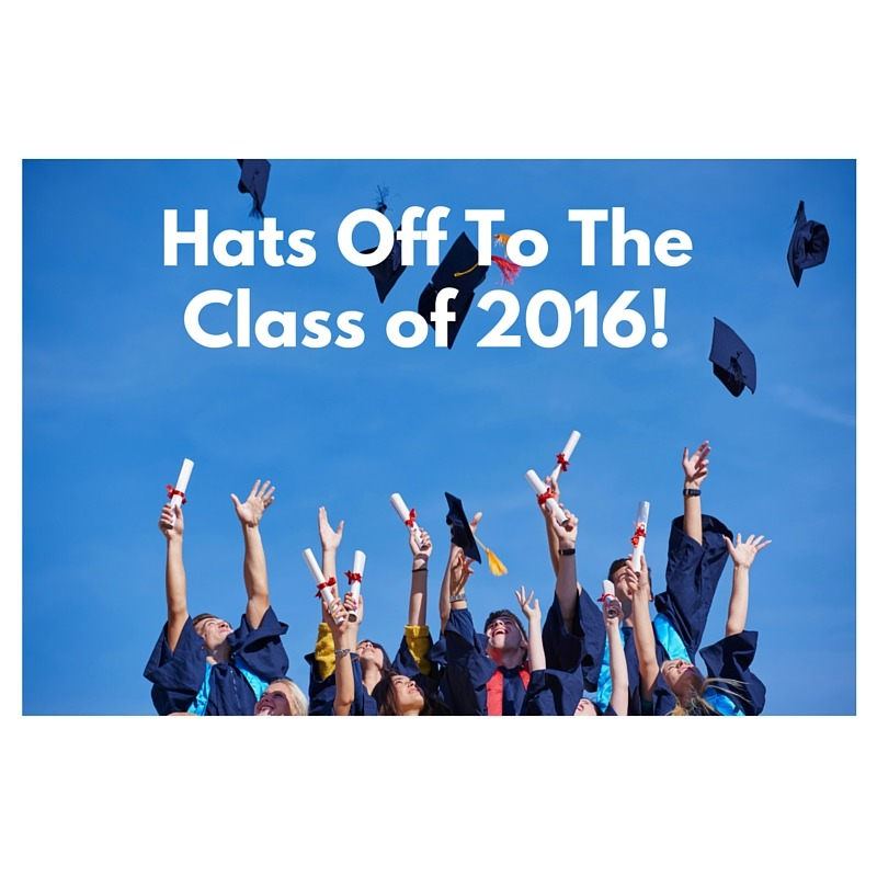 Hats Off To The Class of 2016