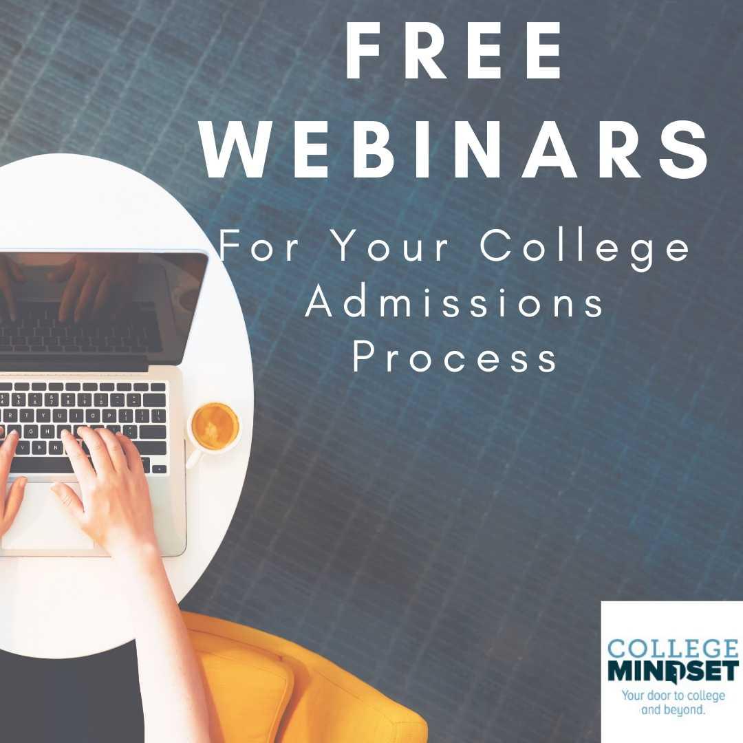 Free College Mindset Webinars